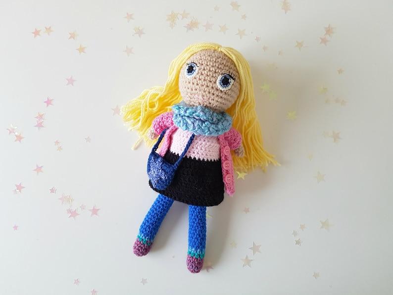 Luna Lovegood Inspired Handmade Doll With Accessories Crochet Etsy