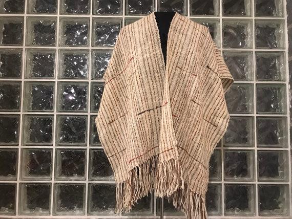 Handwoven Wool Serape - Free Domestic Shipping