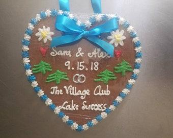 Gingerbread Heart - 11 inch (Lebkuchen)