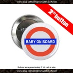 5 Baby On Board 2 inch Button