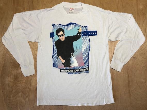 Vintage Billy Joel Shirt 80s 1986 The Bridge Tour