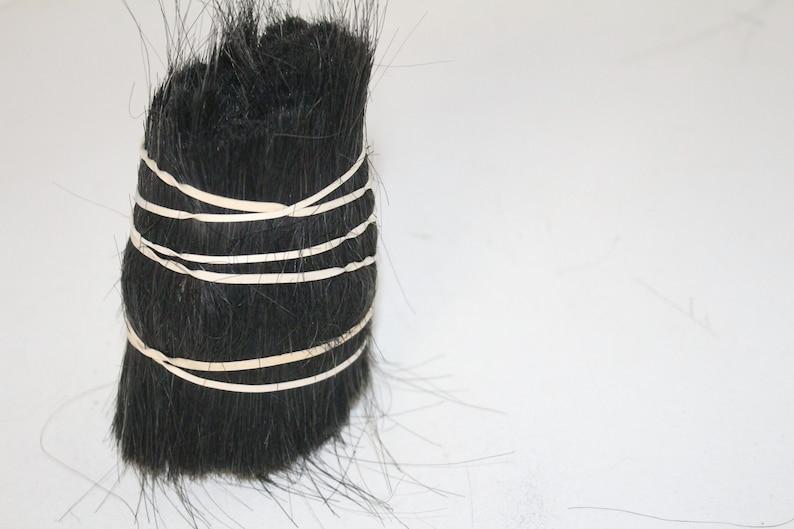 1 Medium Cow tail hair bundle 12 lb...... b1289............