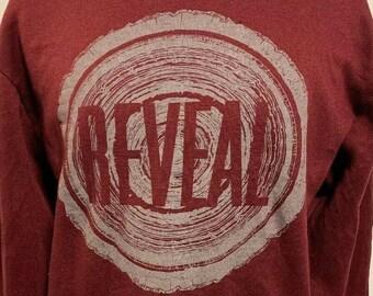 Vintage Reveal Sweatshirt SXE Hardcore HC Turning Point Flagman Ink & Dagger