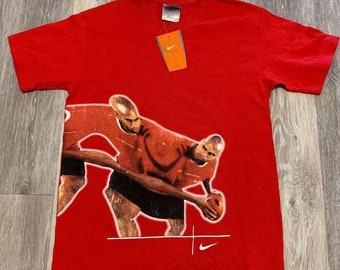 NWT Vintage Nike Hoops Basketball T-shirt Youth S, M, L Vince Carter DS