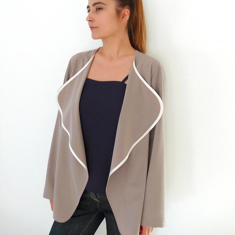 PDF Sewing Pattern N.51 Sizes 38-52 Women's Cardigan / image 0