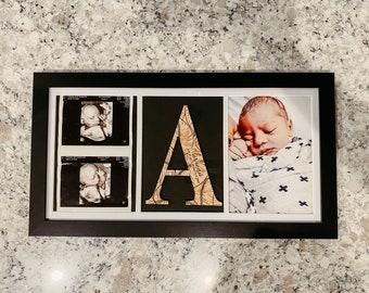 Sonogram Frame / Ultrasound Frame / Birth Photo Frame / Birth Photography Frame / New Baby Photo / Birth Announcement Frame