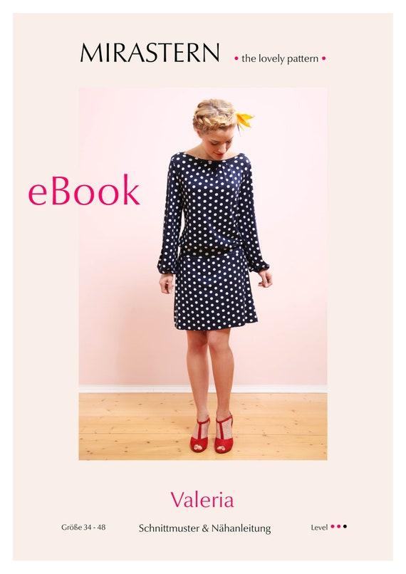 Schnittmuster eBook VALERIA Kleid | Etsy