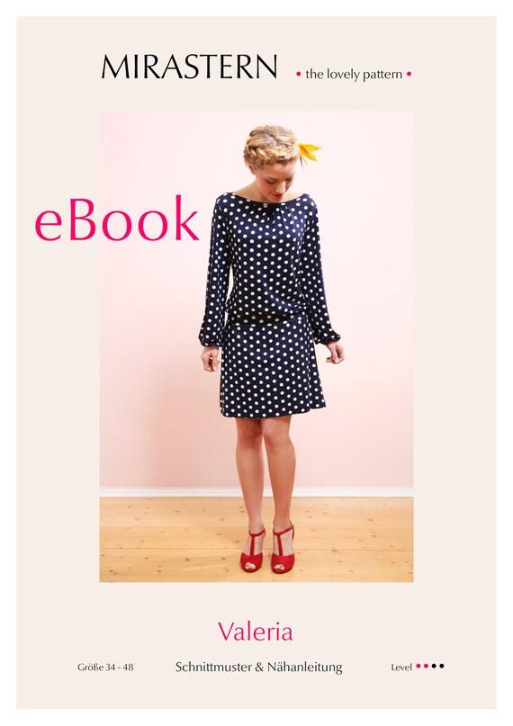 Schnittmuster eBook VALERIA Kleid   Etsy