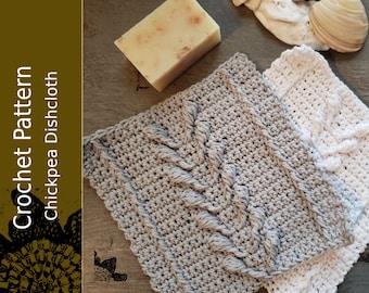 Chickpea Dishcloth PDF Pattern