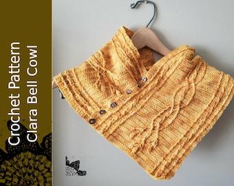 Clara Bell Cowl Crochet Pattern