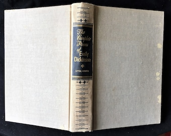 The Complete Poems of Emily Dickinson; Edited by Thomas Herbert Johnson; Little,Brown and Co; 1960; HardCover Poetry