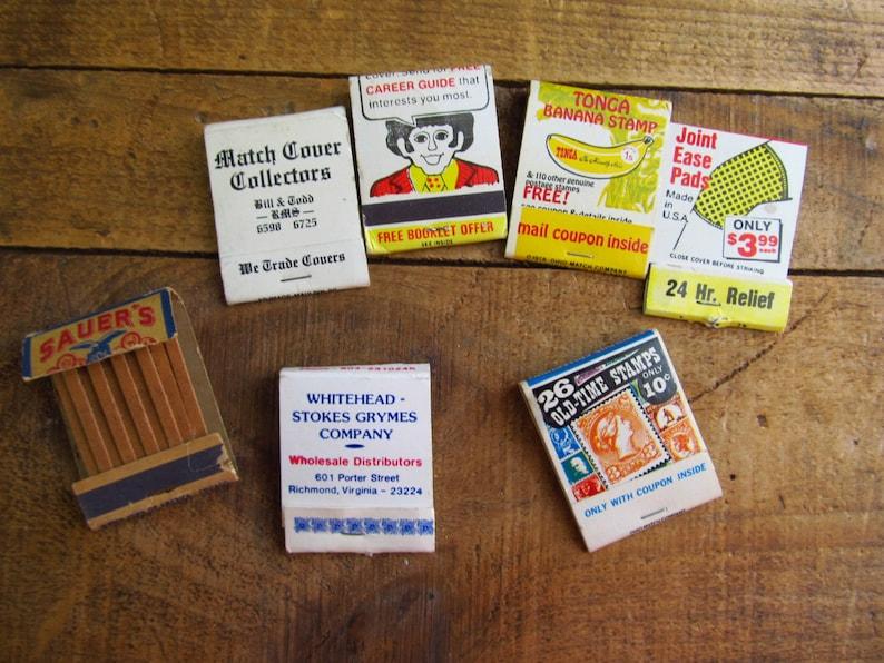 Vintage Advertising Matchbook - Mail-In Offer Matchbook - Match Cover  Collectors Matchbook