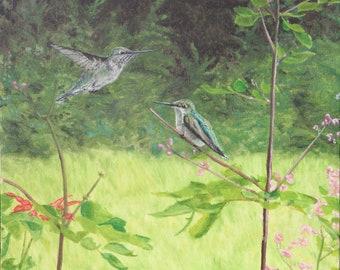 Prints & Cards ~ Hummingbird Joy
