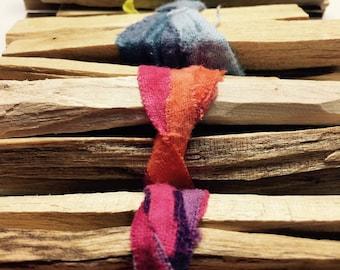 SET of 6 Palo Santo Bundles Incense Sticks, Farmhouse Decor, Grateful Dead
