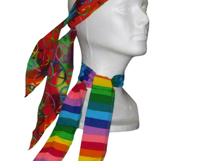 Neck Cooler, Head Wrap, Cold Wrap, Cooling Wrap, Cool Ties, Cooling Ties, Cooling Bandana, Cold Scarf, Batik