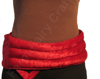 ADJUSTABLE  VELCRO® Cover & Heating Pad - Lumbar and Shoulders