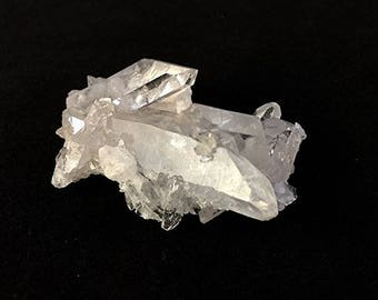 "Arkansas Crystal Quartz Cluster, approx 1"" x 2"""