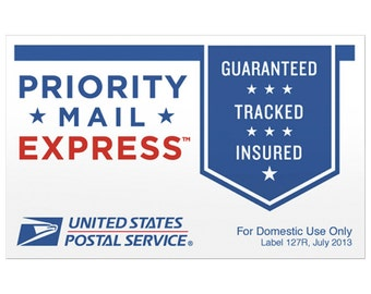 Priority Mail Express Upgrade for Shoulder Wraps, Waist Packs, and Large Heating Pads 1-2 days for FarmFairyCrafts buyers Only
