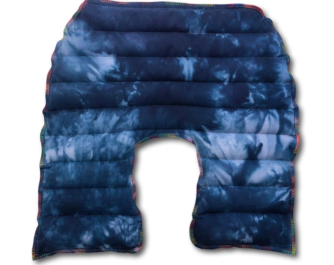 Rice Flax Heating Pad, Tie Dye Weighted Blanket 3 Sizes