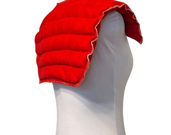 XL Hot Pack Microwave Rice Flax Bag Shoulder Wrap Heating Pad Therapy