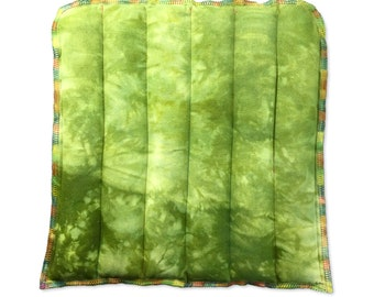 Rice Bag Flax Heating Pad - Low Back, Gift for Him, Stress Relief