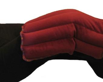 Rice Bag Flax Heating Pad - Joint Pain Relief, Fibromyalgia, Rheumatoid Arthritis