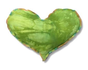 Organic Herbal Heart Eye Pillow Sinus Mask - Gift for Her Headache