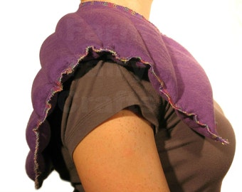 Flax Rice Heating Pad - Herbal Shoulder & Neck Soothing Pain Relieving Rice Microwave Wrap Extra Large