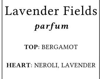 Lavender Vanilla Neroli Perfume Organic Parfum