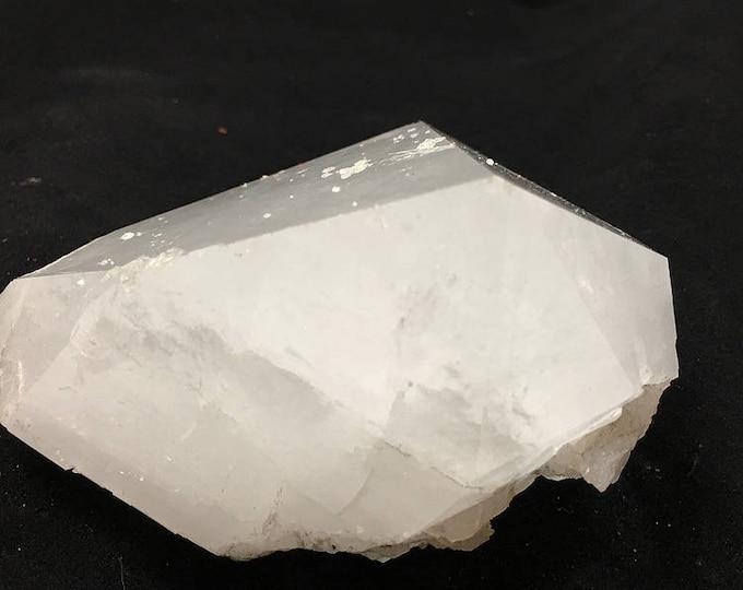 """Arkansas Unusual Self-Healed Crystal Point Shard, 4""""x4"""" - {Item#8}"""