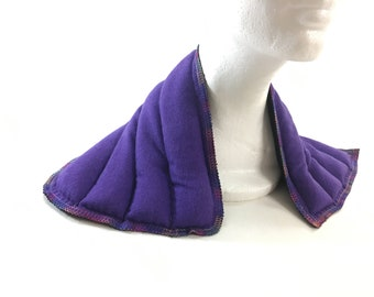 Microwave Neck Wrap Shoulder Heat Pack - Rice Flax Heating Pad