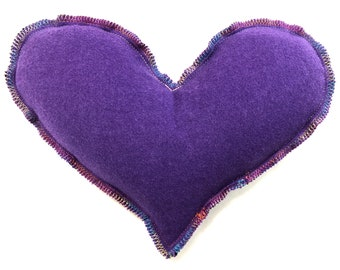 Organic Herbal Heart Eye Pillow Eye Mask Sinus Mask, Allergies, Congestion, Pain Relief Soothing