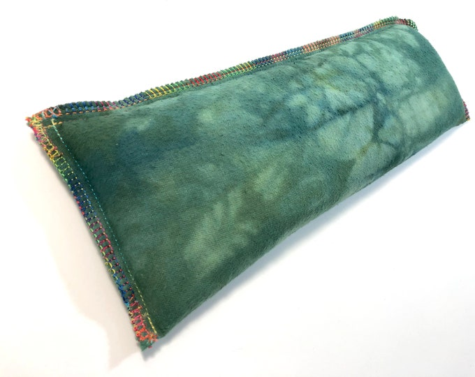 Flax Rice Eye Pillow -  Soothing Gift for Him