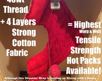 Neck Wrap, Heating Pad, Rice Bag, Microwave Heating, Heat Therapy