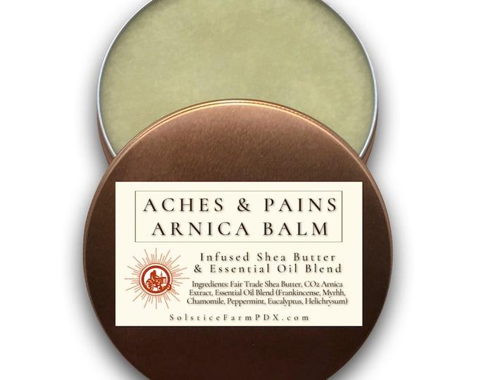 Aches & Pains Arnica Balm w/ Essential Oil Blend