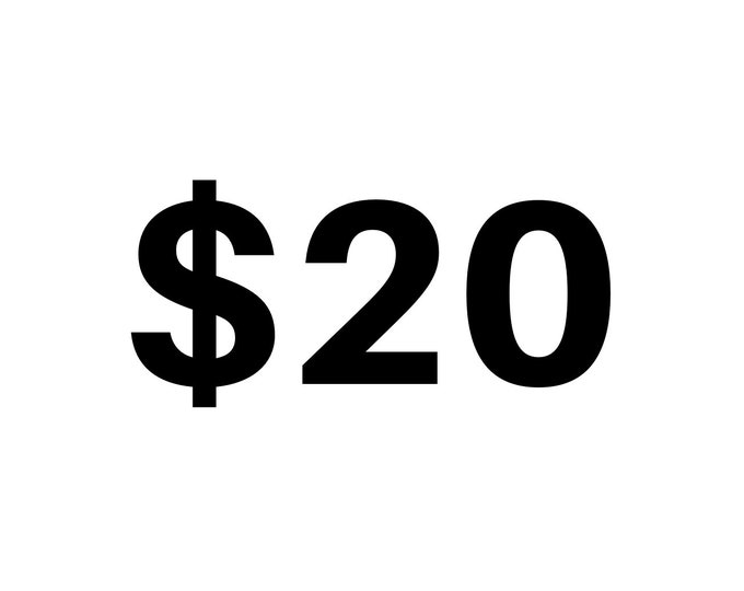 10 AAAb In Person Sale or Online Donation Only