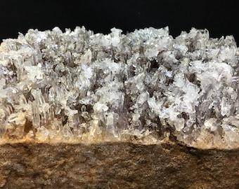 Extra Large Arkansas Quartz Cluster on Massive Basalt Matrix