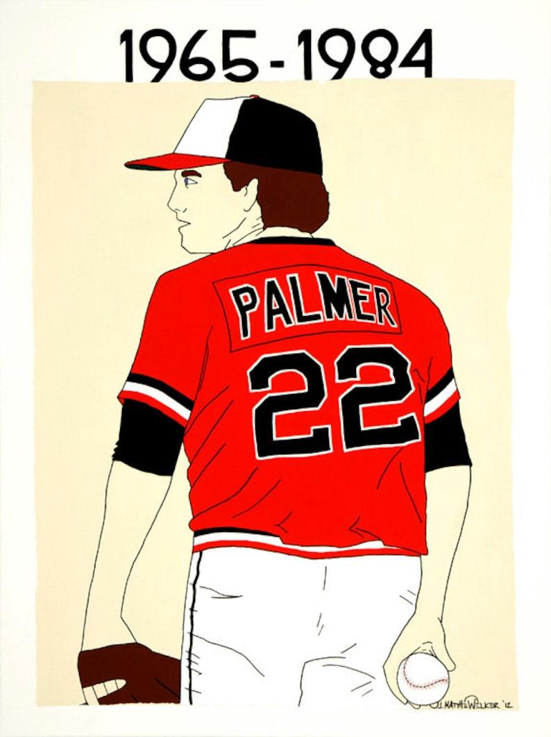 18x24 Print Forever Palmer Jim Palmer Pop Art Poster Baltimore Orioles Hall Of Fame Pitcher Cy Young Award Baseball Mlb World Series