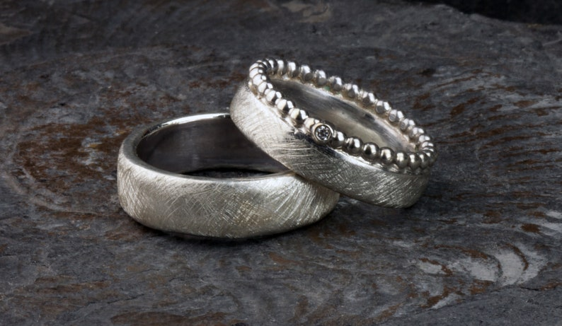 Wedding rings with ball ring Wedding rings ith ball ring image 0
