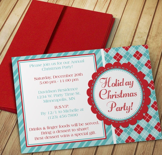Diy do it yourself christmas party invitation editable solutioingenieria Image collections