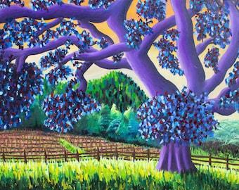 Big Oak an original landscape