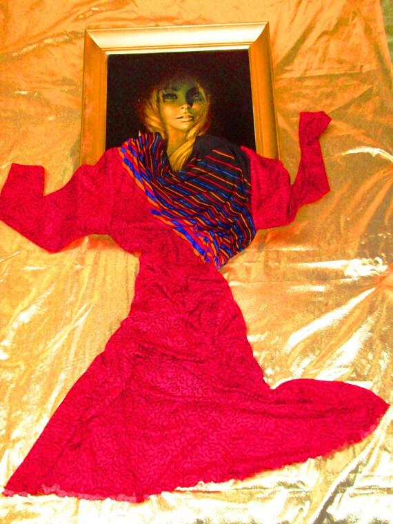 Parisian vintage 1970's party dress