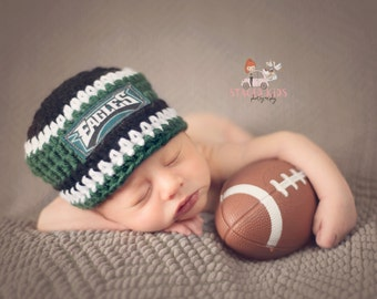 Philadelphia Eagles inspired baby hat 7d942386f