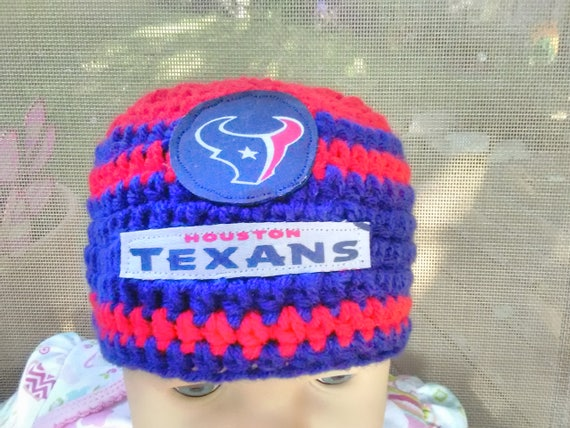 Houston Texans inspired baby hat toddler hat winter hat  6dbd0909fb4