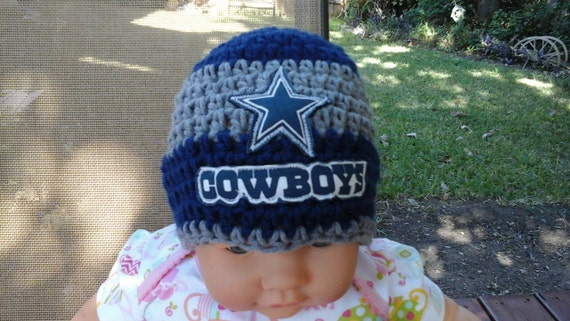 Dallas Cowboys inspired baby hat toddler hat winter hat  a9f6e88e2d0