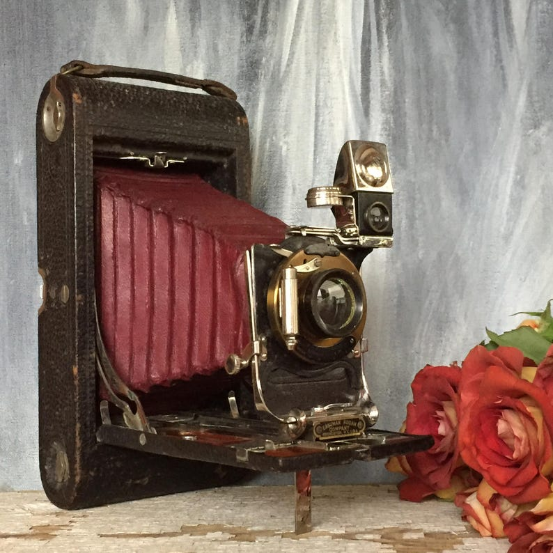 Antique Kodak 3A Folding Camera Gift for Camera Collector image 0