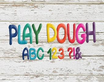 ABC 123: Play Dough Alphas