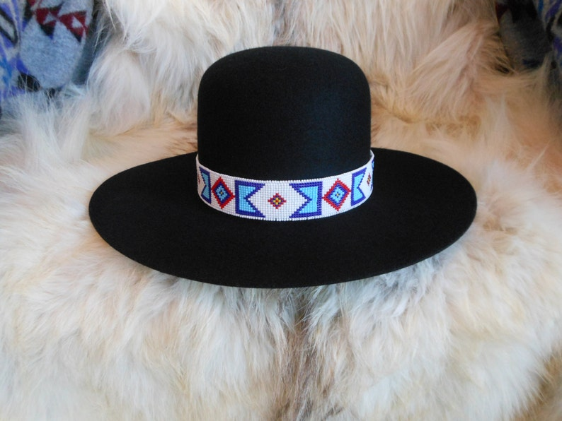 9a378cbd00b Billy Jack MOVIE REPLICA Handloomed Beaded Hatband Indian Joe