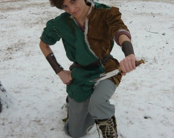 Cosplay Peter Pan from Once Upon A Time Inspired Costume