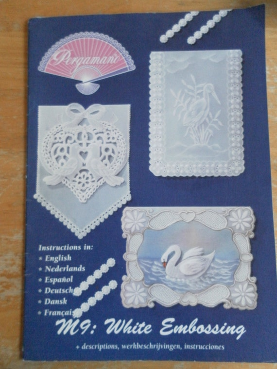 Pergamano Martha Ospina Parchment Crafts Pattern Book White Etsy